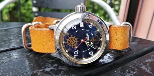 Automatic wristwatch
