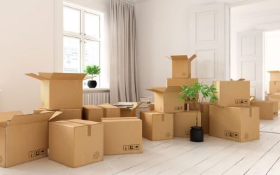 När börjar man flyttpacka inför flytt?