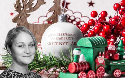 Jordgubbsprinsen önskar gott nytt år