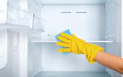 Så rengör man kylskåpet