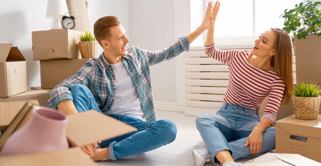 Flytta ihop - Jordgubbsprinsen flyttfirma i Stockholm tips för att slå samman två hushåll