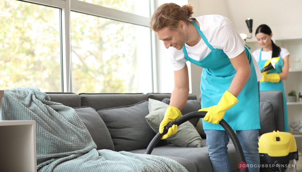 få ditt hus rena och städade på en regelbunden basis