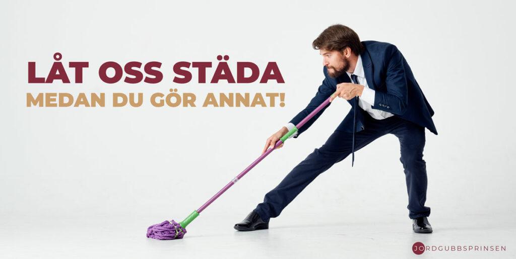 Låt oss städa medan du gör annat!
