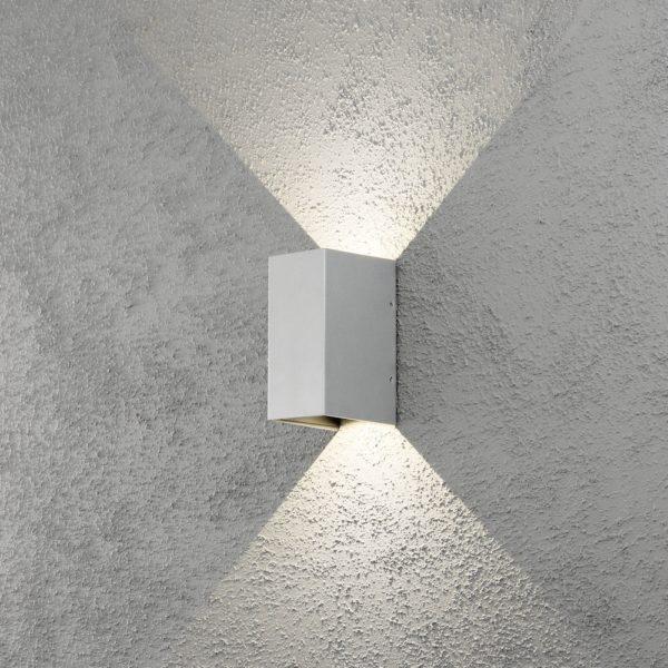 Konstsmide Cremona Vägglykta 2x3W LED