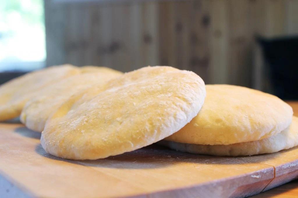 Glutenfritt pitabröd
