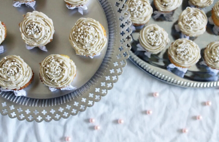 Glutenfria vaniljcupcakes