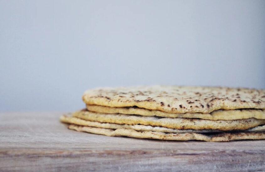 Glutenfria tortillabröd