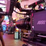 Alexa Mini on set