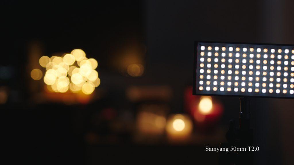 Ziess Samyang lens test