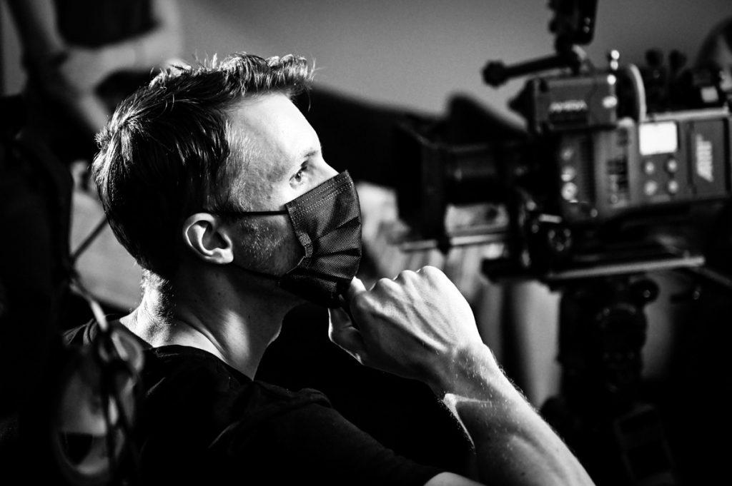 director of photography on-set Arri
