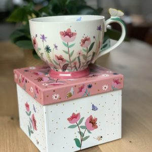 Tea Cup Secret Garden Flower