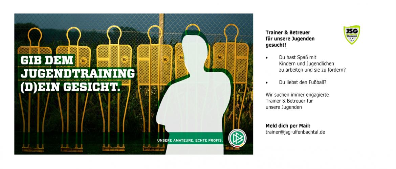 Wir suchen Trainer