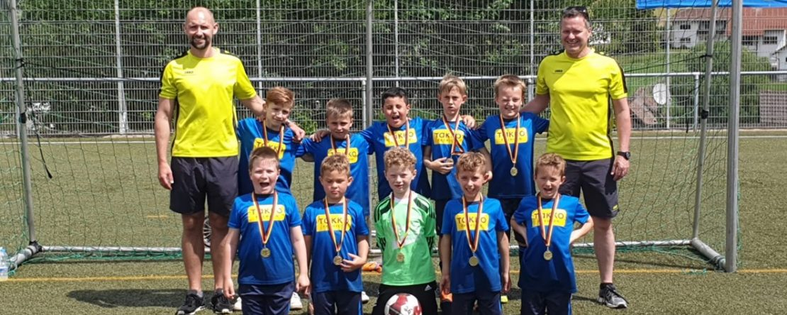 F-Jugend beim BKK Freudenberg Cup
