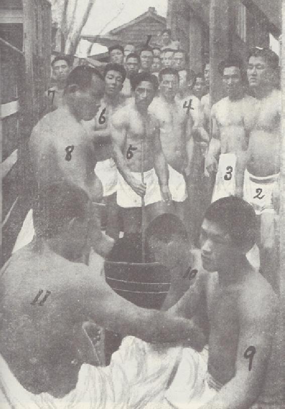 Picture of stalwart Mifune Kyuzo sanchuanjiuzang 18831965 6 th dan later 10 th dan and training