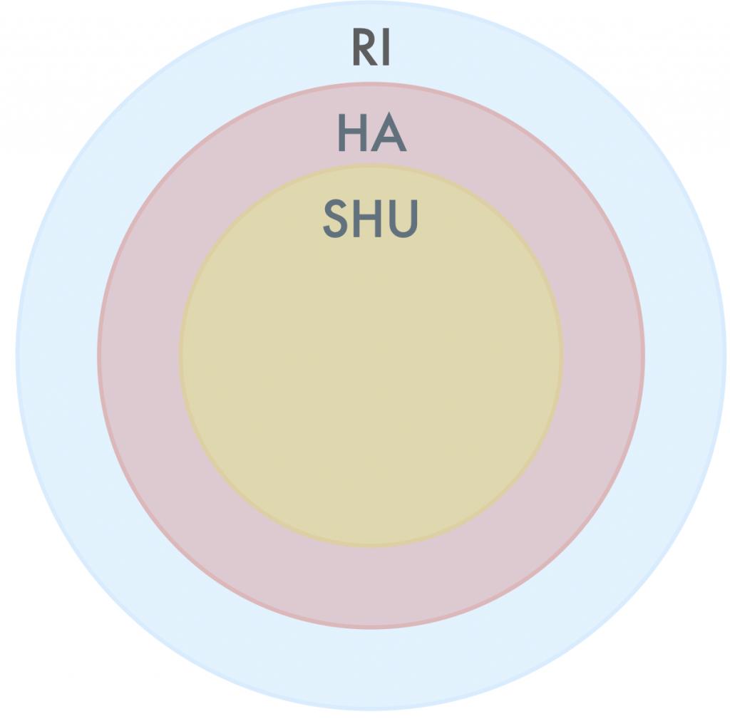 Shu ha ri (konsentriske sirkler)