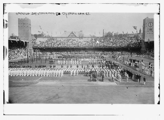 opening day stockholm olympic games