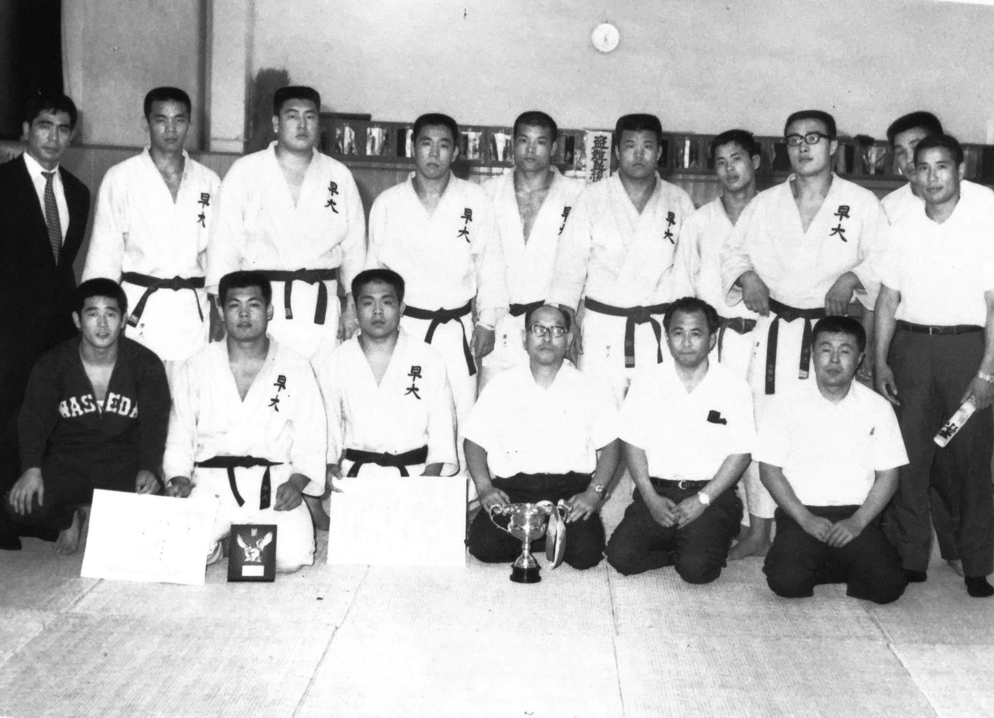 1969_Waseda_Judo_Team
