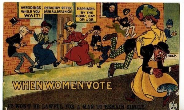 what happens when women vote poster