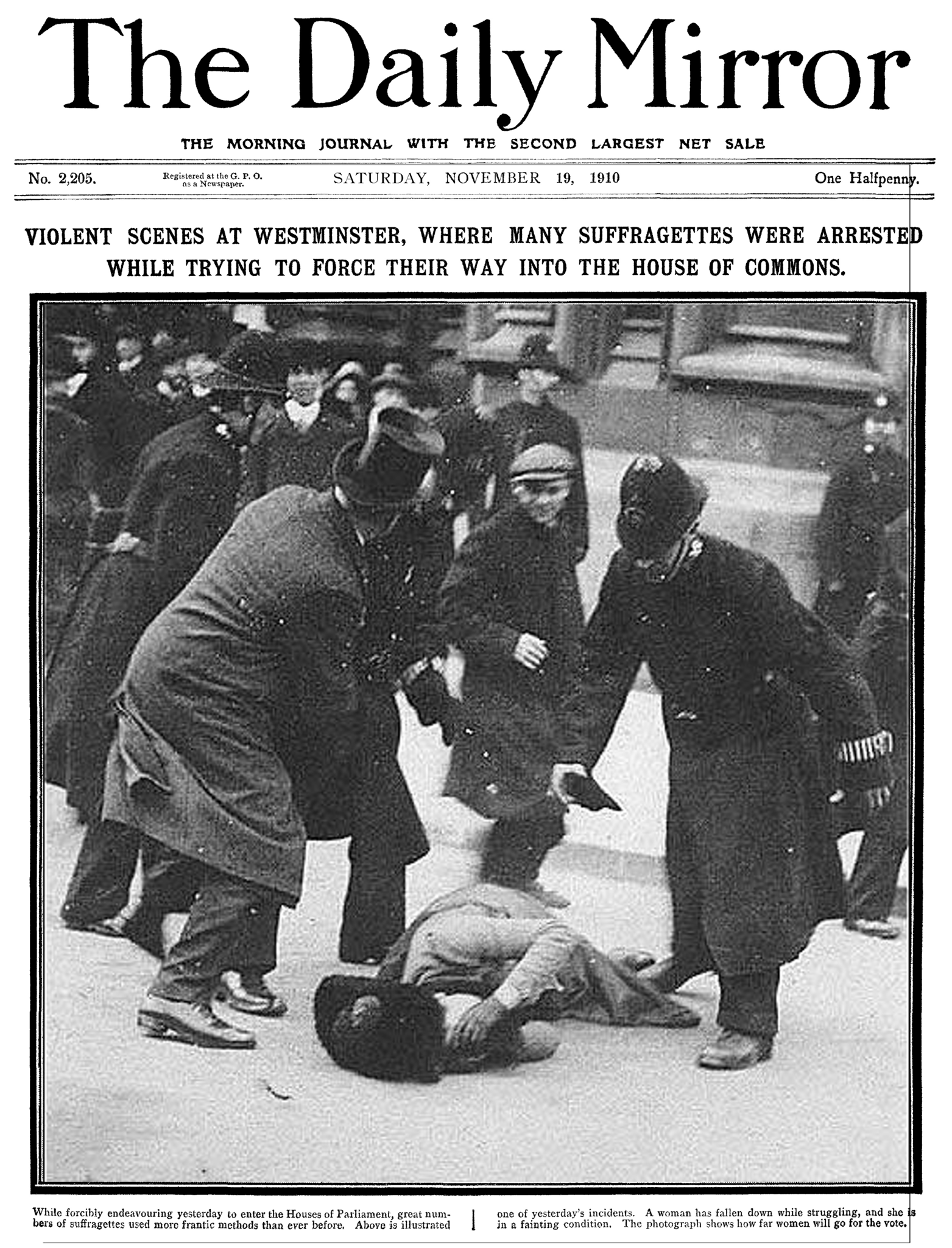 The_Daily_Mirror_19_November_1910_front_page_cleaned