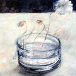 Wasserglas mit Blumen, 2006
