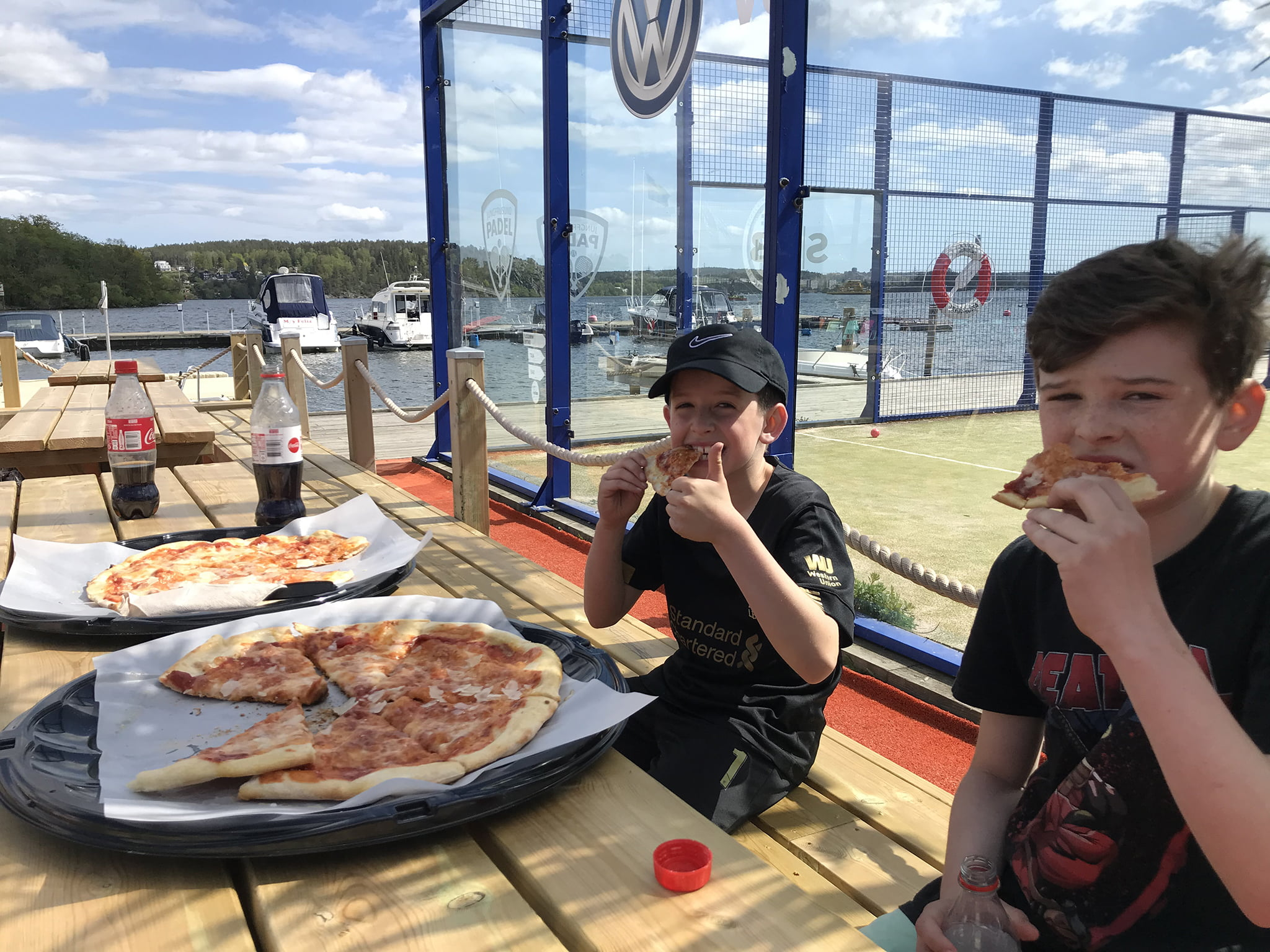Gillar Pizza i Jungfrusund