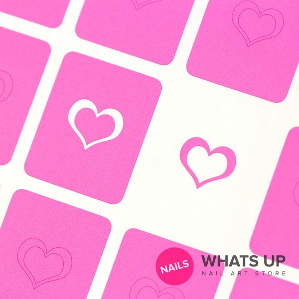 Open Heart Stickers & Stencils