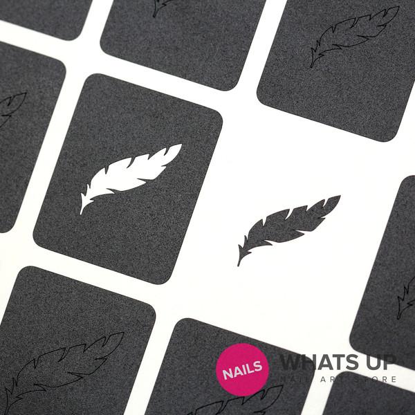 Feather Stickers & Stencils