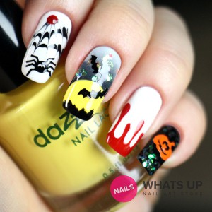 whatsupnails-dripping-stencils-nails grande