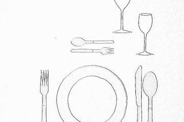 nakrycie podstawowe 001 360x240 - Wokół stołu – nakrycie podstawowe