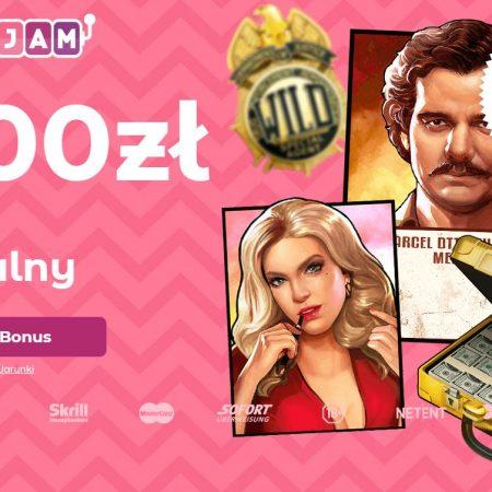 Bonus 5 EUR czeka na Ciebie w kasynie SlottoJam