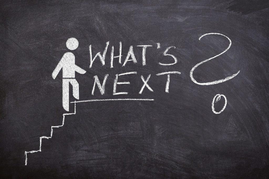business, the next step, next