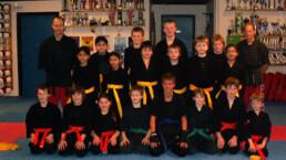 Graduering i Kolding Kung Fu & Kickboxing