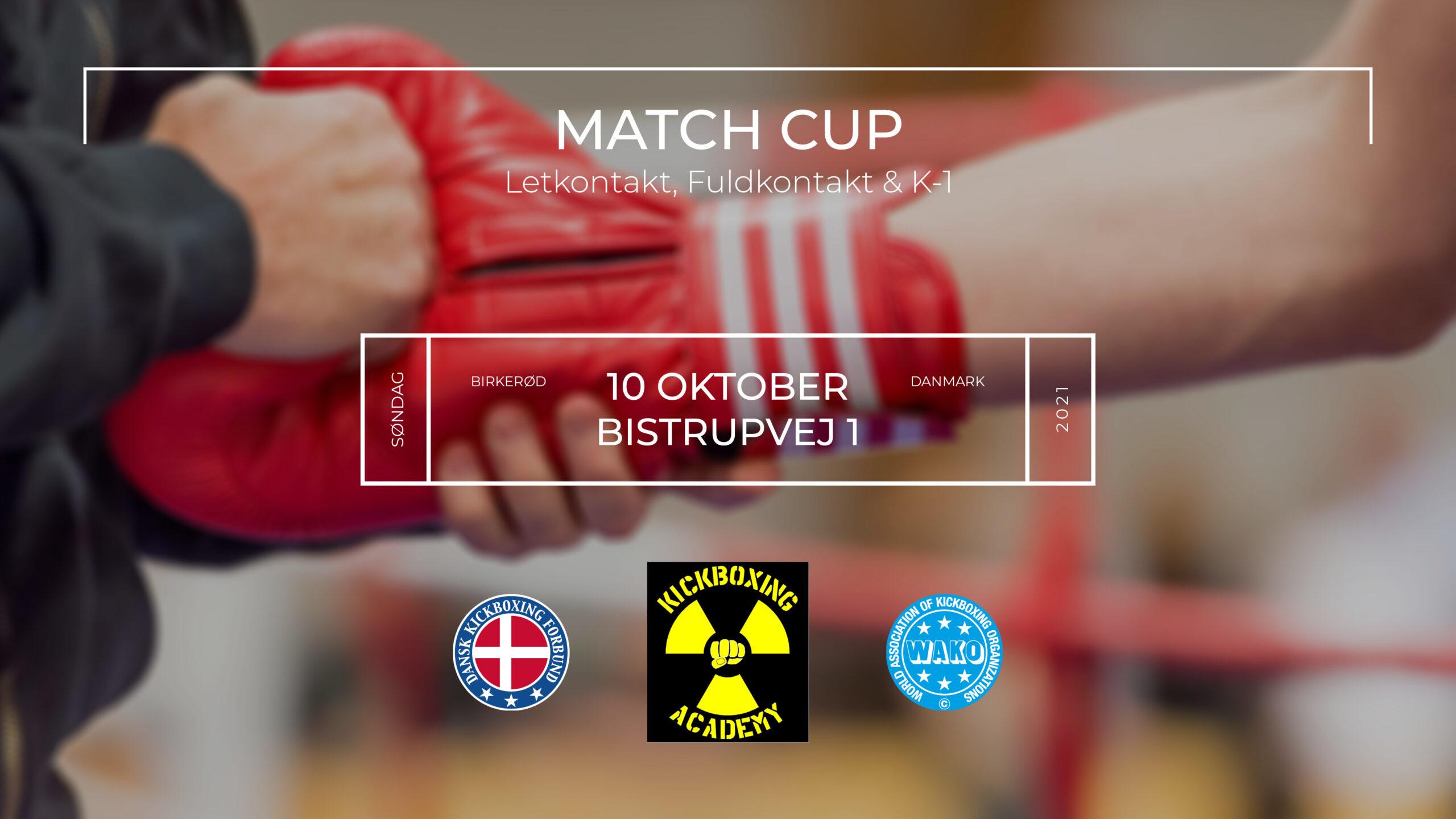 Match Cup i Birkerød oktober 2021