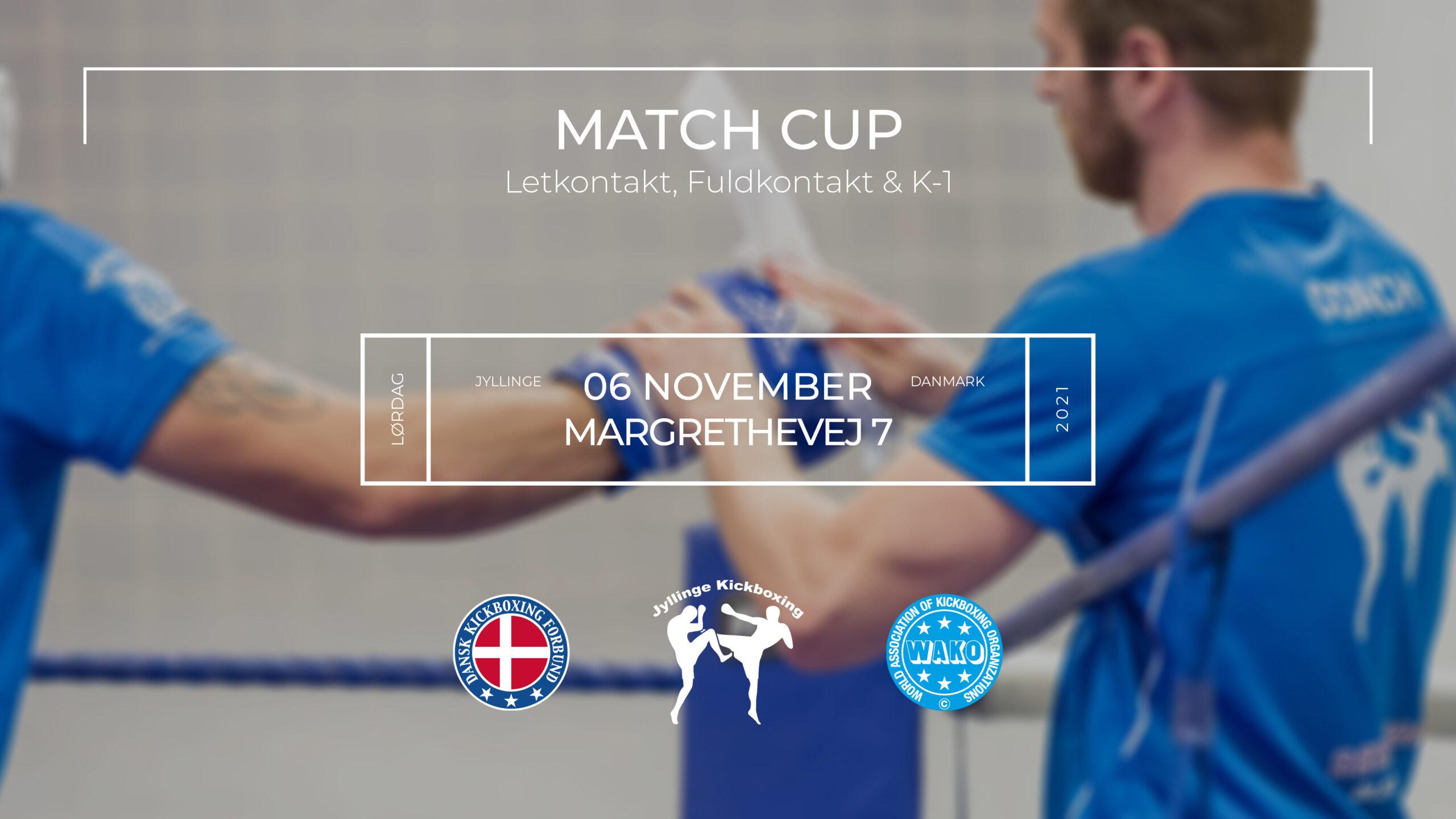 Match Cup i Jyllinge November 2021