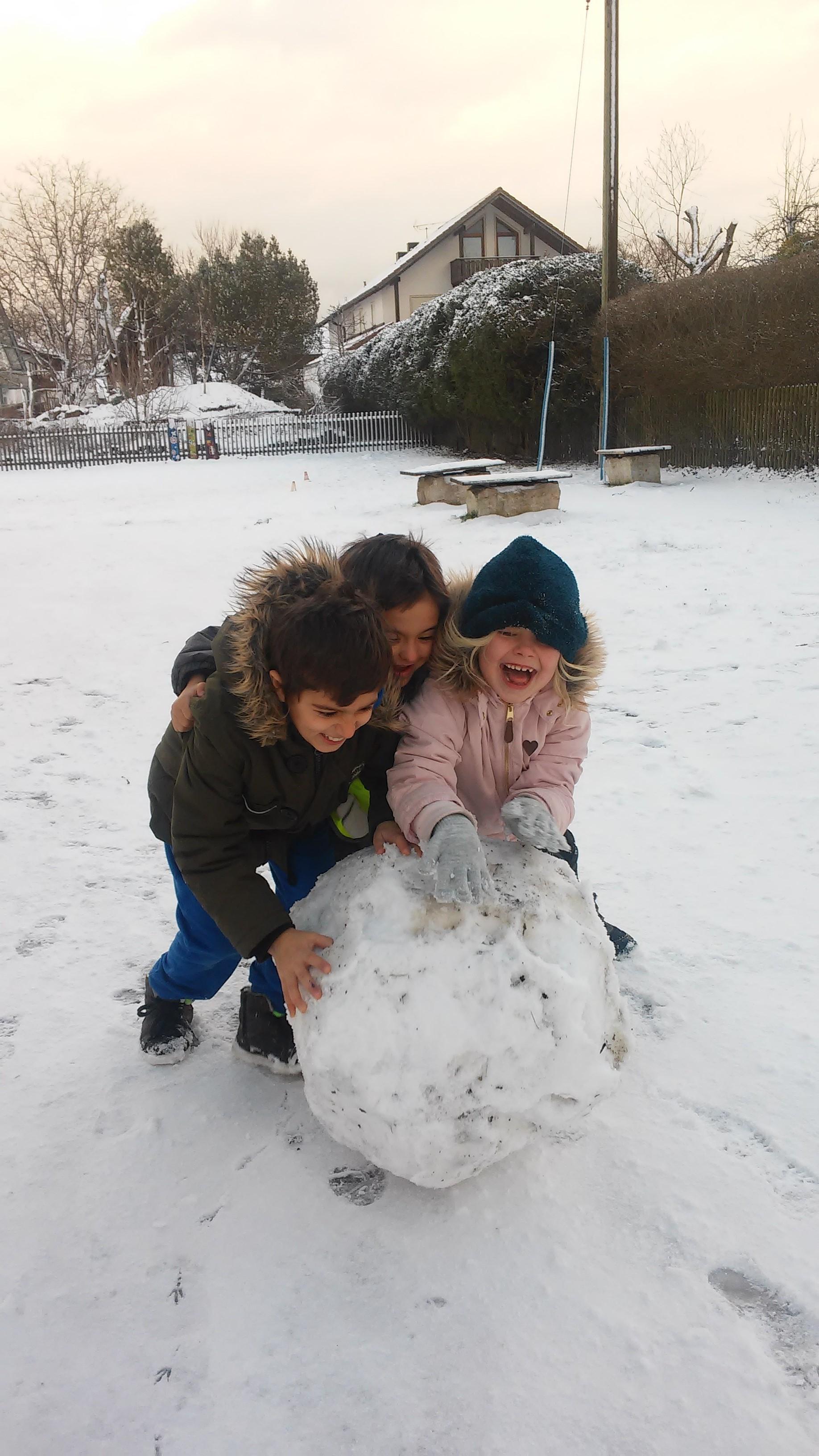 "Kinderhort ""Bunte Kleckse"" Raisting - Schneespaß I"