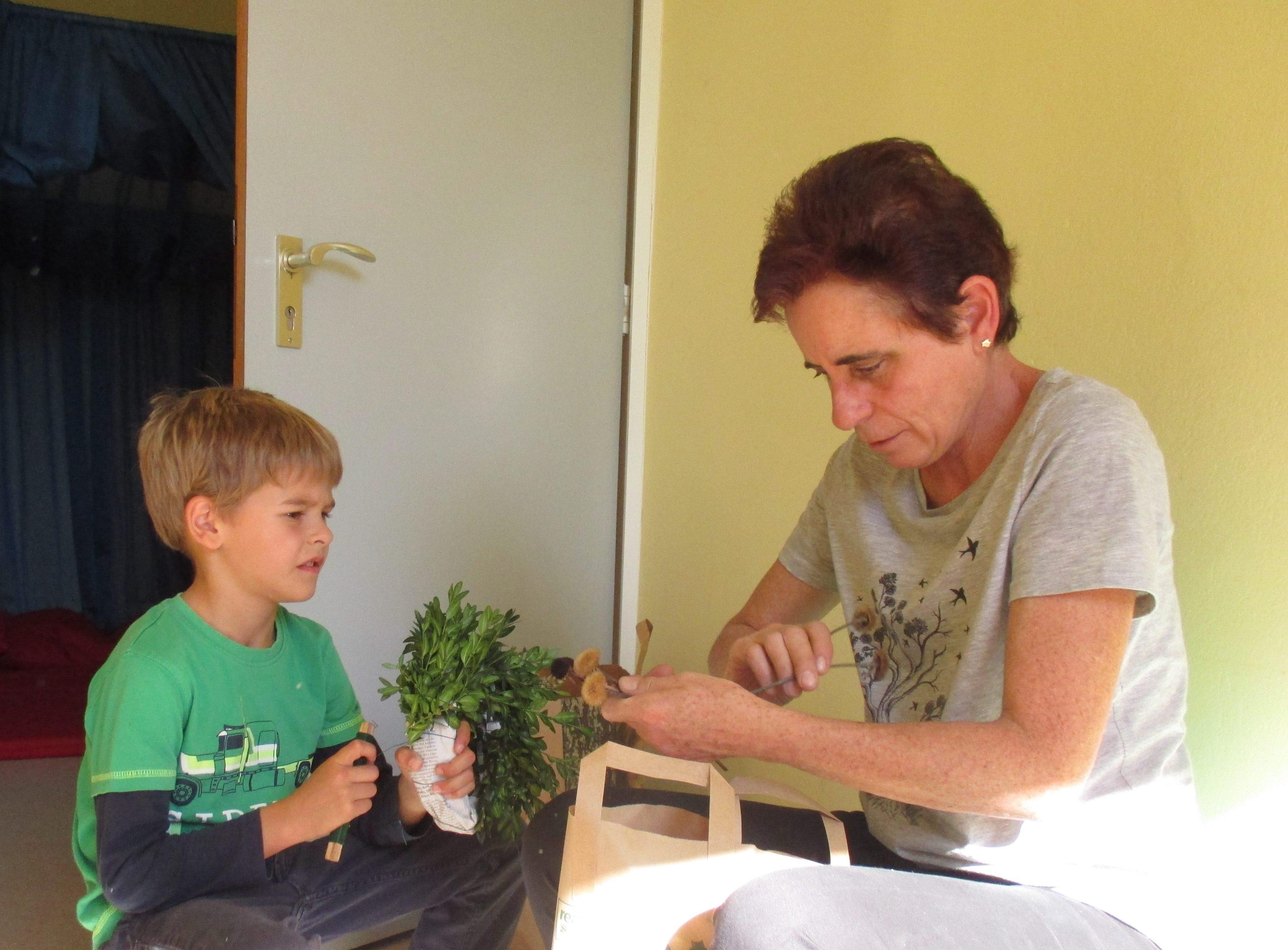 """Kinderhort """"Bunte Kleckse"""" Raisting - Herbstkranz 6"""