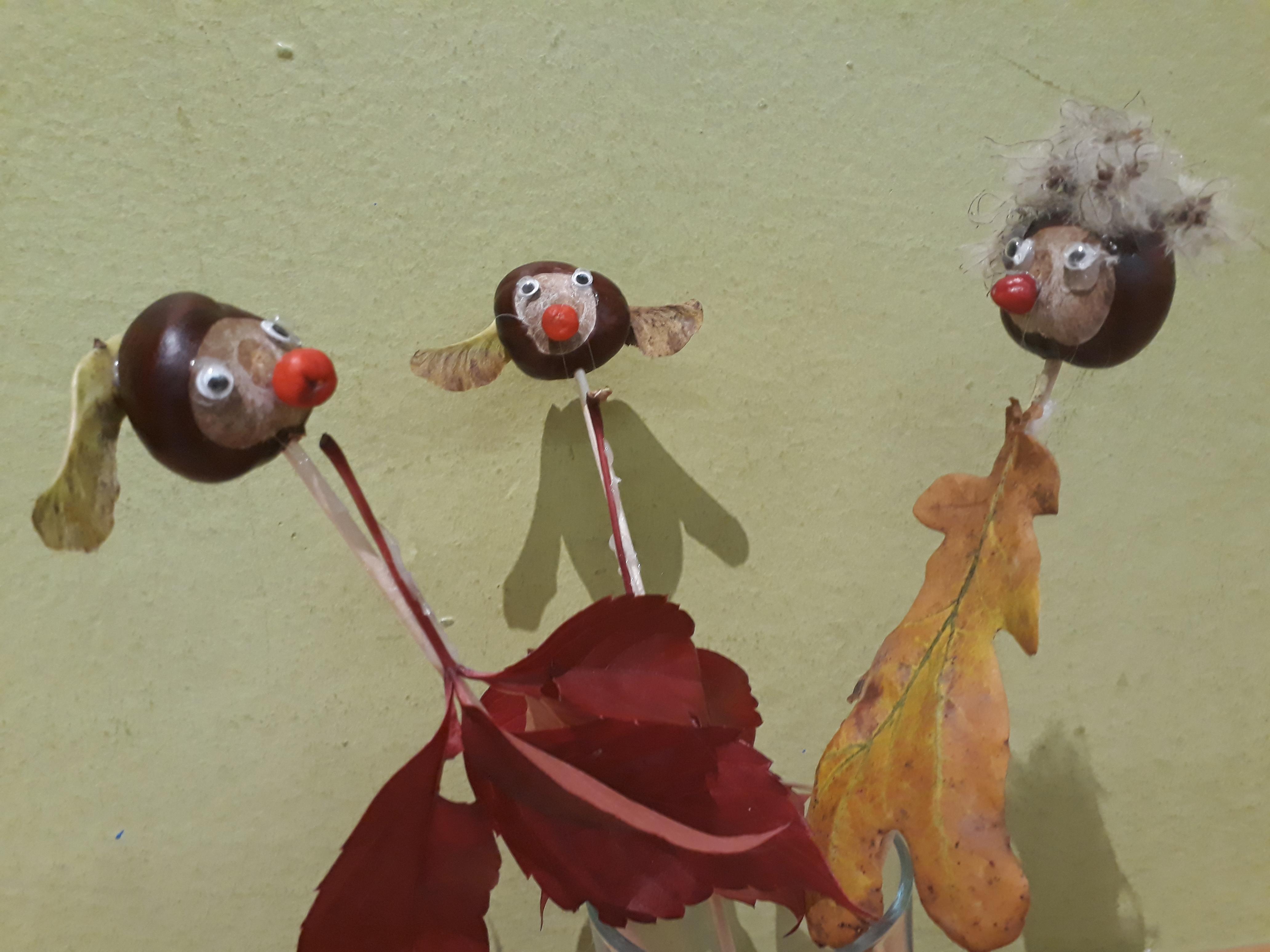 """Kinderhort """"Bunte Kleckse"""" Raisting - Herbstdeko"""