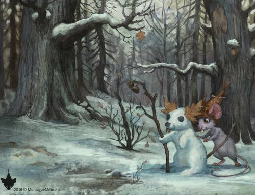 Montague Mouse: The Dead of Winter