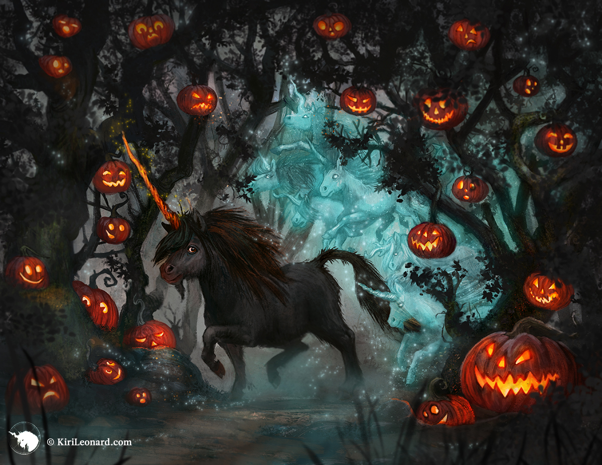 The Year of the Unicorn: Halloween