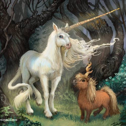 The Year of the Unicorn: The Royal Unicorn and the Littlest Curlycorn