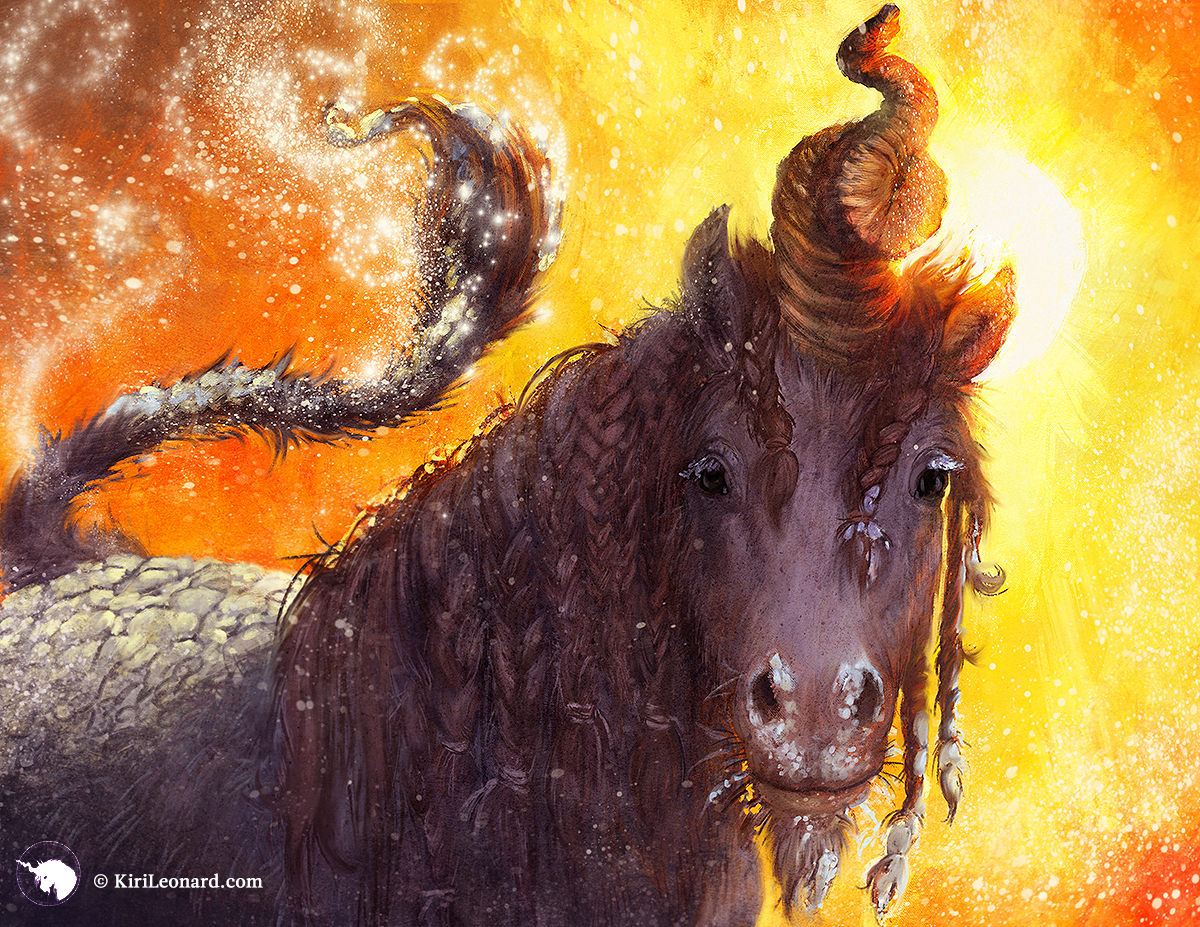 The Year of the Unicorn: The Siberian Curlycorn