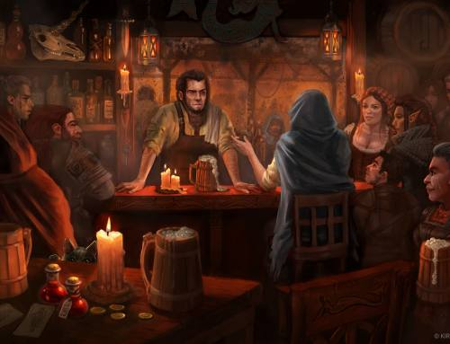 Locke the Legend: Within the Tavern
