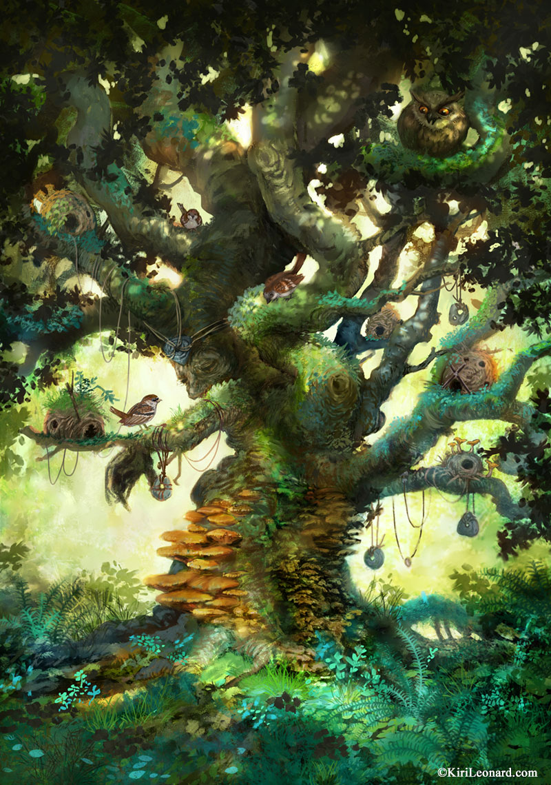 The Old Fairy Tree by KiriLeonard.com