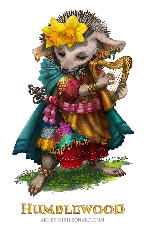 Moonflower, Humblewood. Art by KiriLeonard