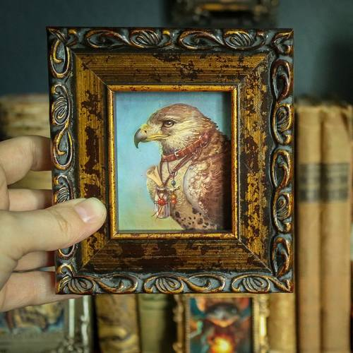 Framed Mini: The Falcon Familiar