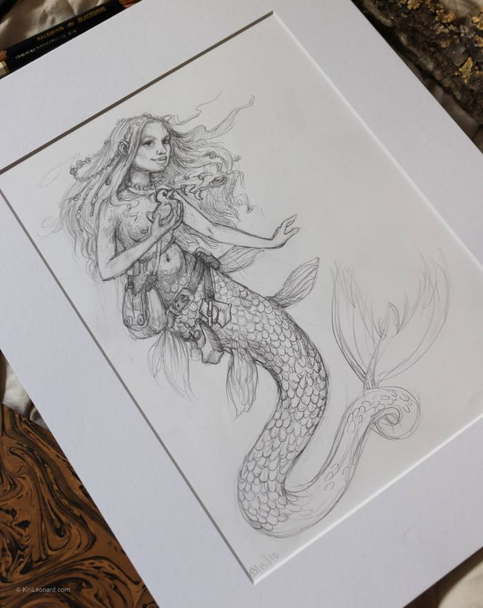 Mermaid and Rubberduck by Kiri Leonard