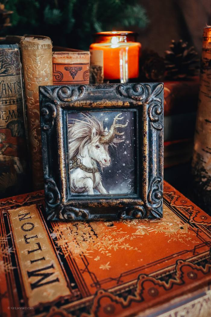 Framed Mini: The Northern Curlicorn