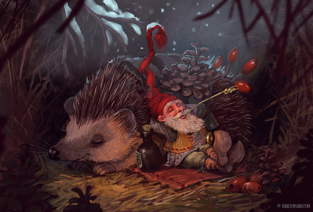 The Gnome and the Hedgehog