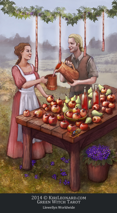 The Green Witch Tarot: Harvest