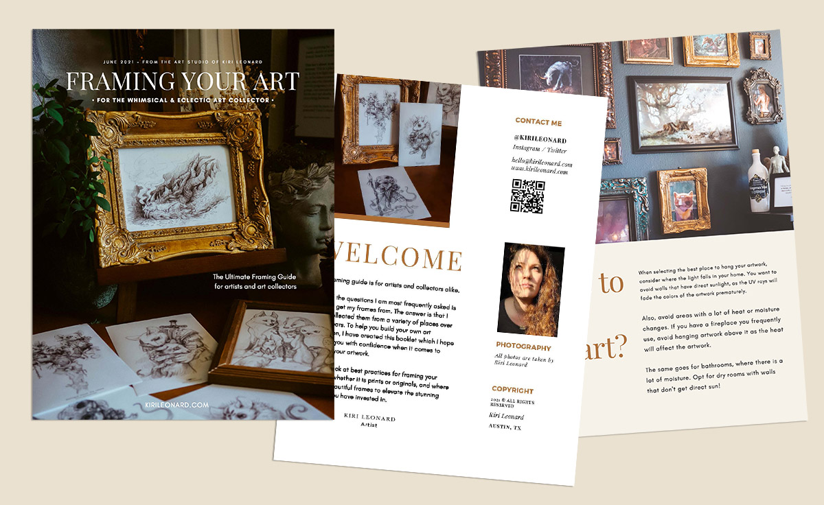 Framing Guide for the Whimsical and Eclectic Art Collector